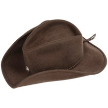 Stetson Hollywood Drive Cowboy Hat - Felted Wool (For Men) in Brown - Closeouts