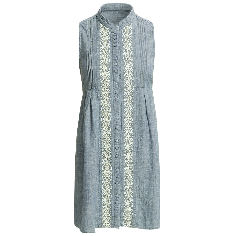 Wonderful  About Long Sleeve Denim Shirt Dress Womens Blue Denim Tunic 009