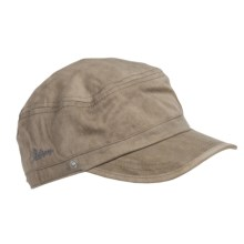Stetson Microfiber Flap Cap (For Men) in Khaki - Closeouts
