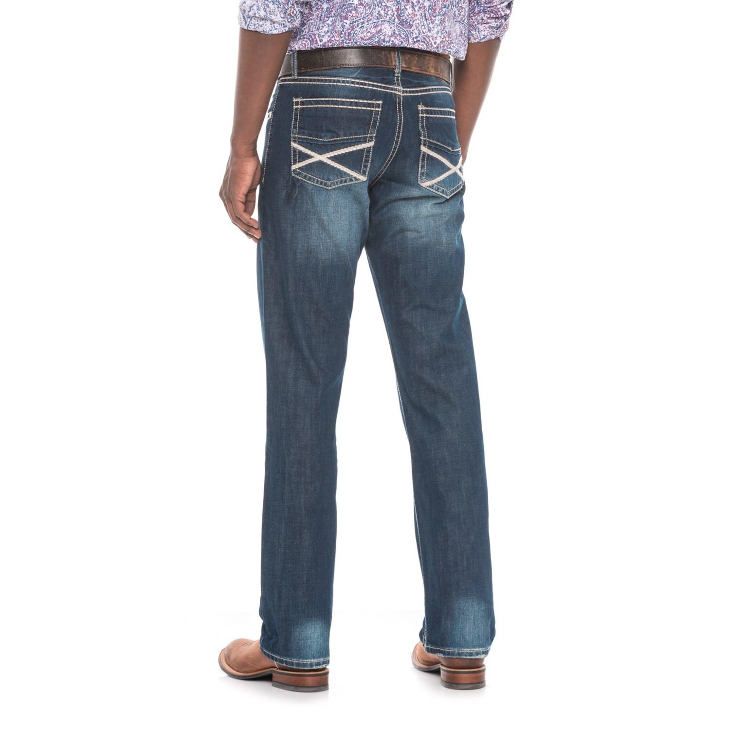 stetson modern straight leg jeans for men save 78