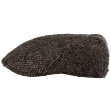 Stetson Modesto Driver Cap - Virgin Wool (For Men) in Brown - Closeouts