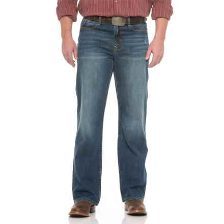 Stetson No. 1312 Modern Straight-Leg Jeans (For Men) in Medium/Dark Wash - Closeouts
