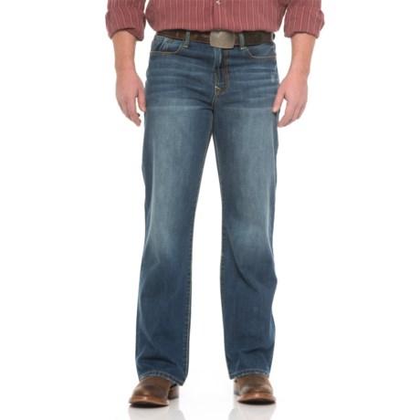 Stetson No. 1312 Modern Straight-Leg Jeans (For Men) in Medium/Dark Wash