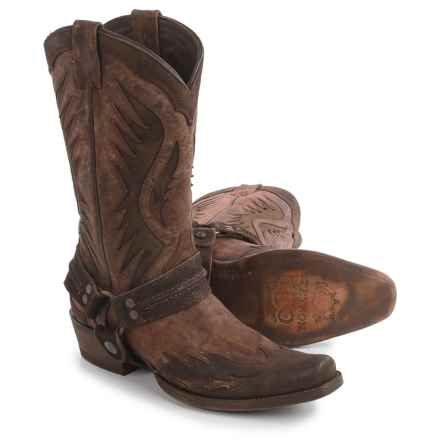 Stetson Outlaw Wings Cowboy Boots (For Men) in Brown - Closeouts