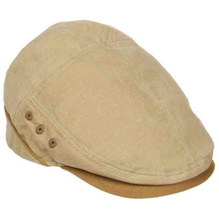 Stetson Oxford Ivy Cap (For Men) in Khaki - Closeouts