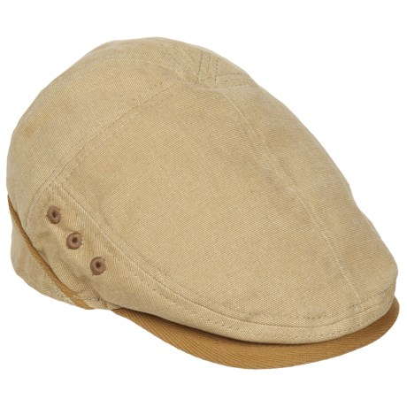 Stetson Oxford Ivy Cap (For Men) in Khaki