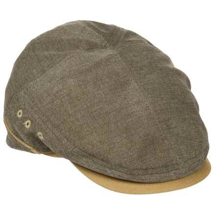 Stetson Oxford Ivy Cap (For Men) in Olive - Closeouts