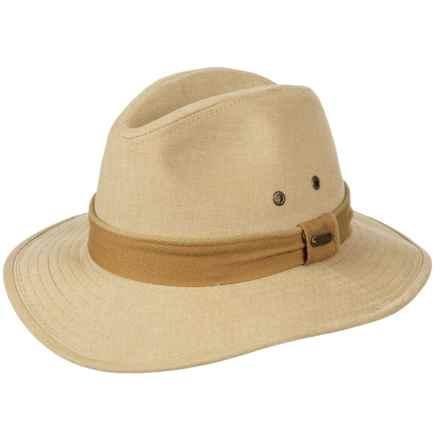 Stetson Oxford Safari Hat - UPF 50+ (For Men) in Khaki - Closeouts