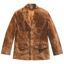 Stetson Pig Suede Jacket (For Men) in Brown - Closeouts