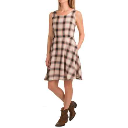Stetson Plaid Dress - Sleeveless (For Women) in Cameo Pink - Closeouts