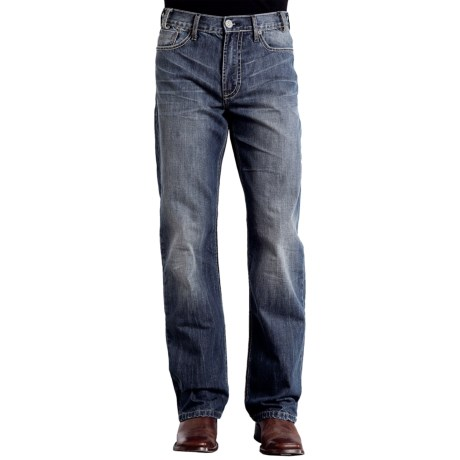 Stetson Relaxed Fit Jeans - Straight Leg, Relaxed Fit (For Men) in Medium Wash