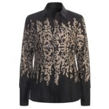 Stetson Scroll Print Shirt - Long Sleeve (For Women)