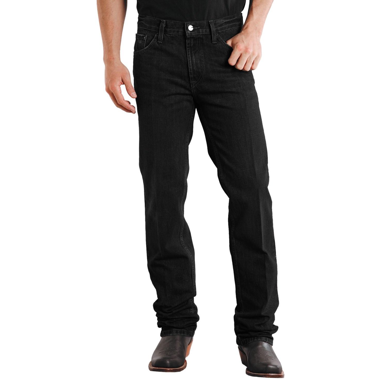 stetson slim fit straight leg denim jeans for men save 49. Black Bedroom Furniture Sets. Home Design Ideas