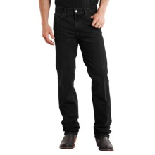 Stetson Slim Fit Straight-Leg Denim Jeans (For Men) in Black Rinse - Closeouts