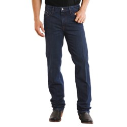 Stetson Slim Fit Straight-Leg Denim Jeans (For Men) in Black Rinse