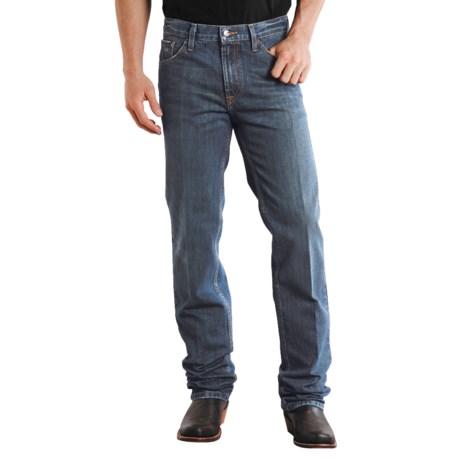 Stetson Slim Fit Straight-Leg Denim Jeans (For Men) in Destress Stone