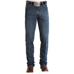 Stetson Slim Fit Straight-Leg Denim Jeans (For Men) in Black Rinse