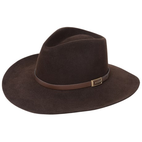 Stetson Solid Fur Felt Cowboy Hat (For Men and Women)