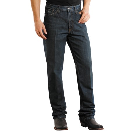 Stetson Standard Straight-Leg Denim Jeans (For Men) in Black Rinse