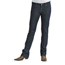Stetson Stovepipe Jeans - Straight Leg, Slim Fit (For Women) in Midnight - Closeouts