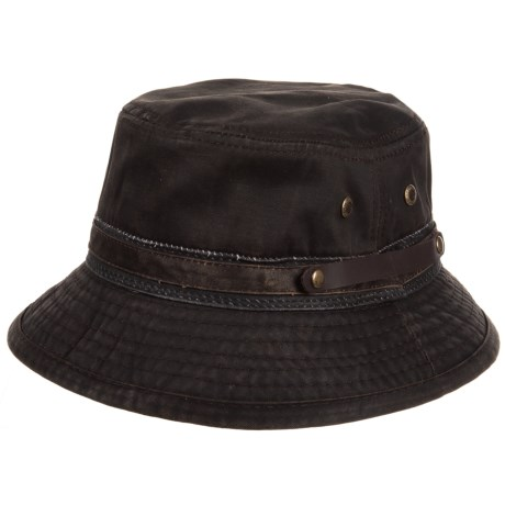 Stetson Weathered Roll-Up Bucket Hat (For Men) - Save 80% dd8d7c5914b