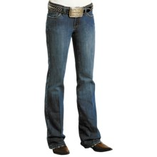 Stetson Western Jeans - Low Rise, Bootcut (For Women) in Dark Stone - Closeouts