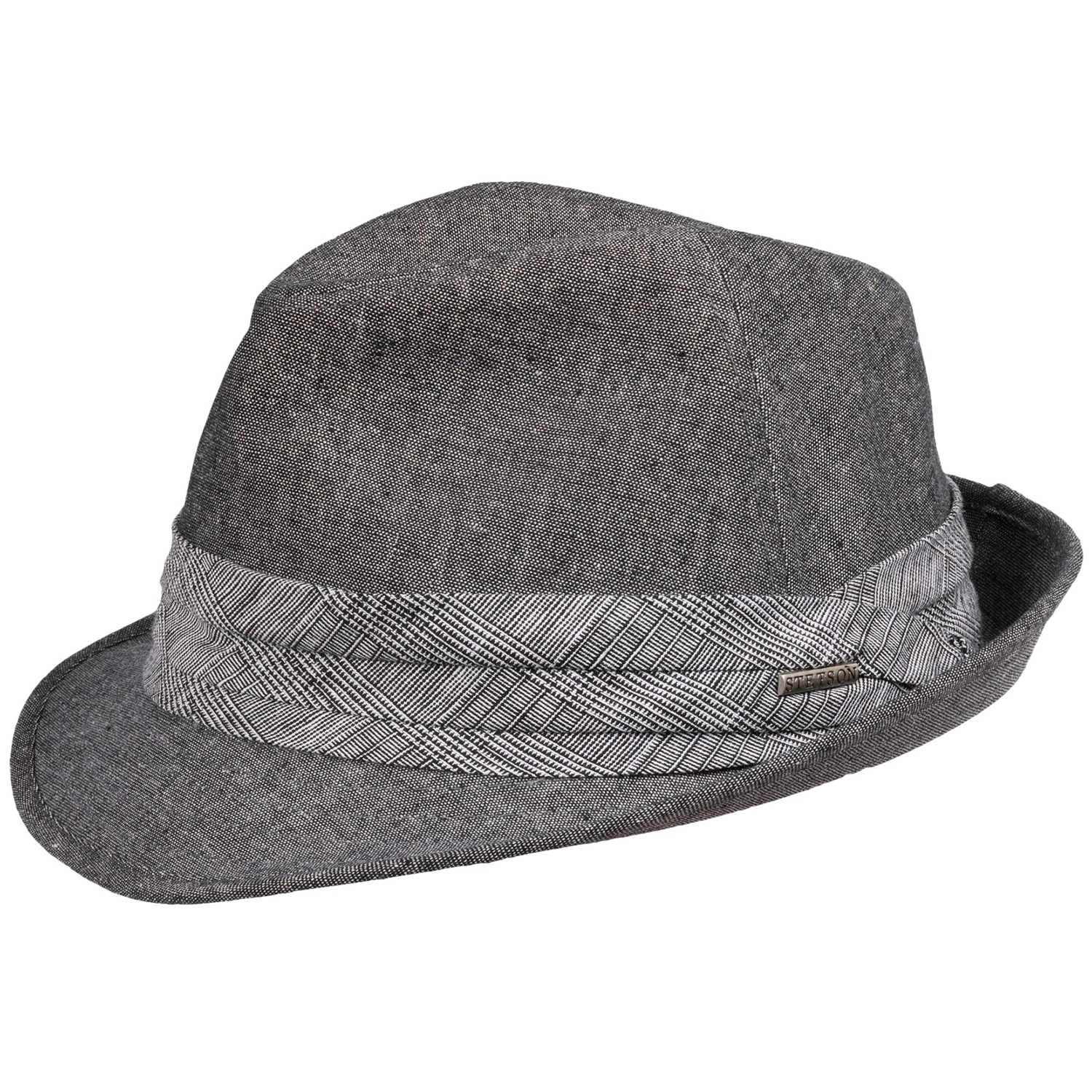 c123ebb91ed13 Stetson Woven Fedora Hat - Linen-Cotton (For Men) - Save 52%