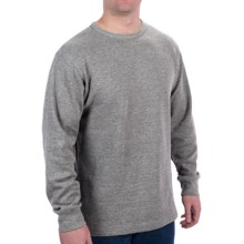 Steve & Barry's Thermal Shirt - Long Sleeve (For Men) in Grey - 2nds
