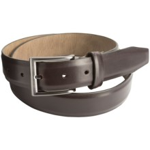 Steve Madden 32mm Leather Belt (For Men) in Dark Brown - Closeouts