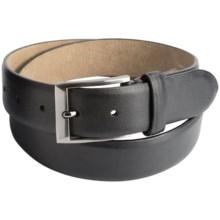 Steve Madden 35mm Leather Belt (For Men) in Black - Closeouts