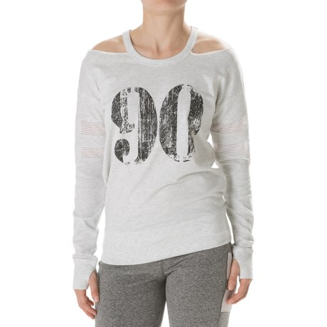 Steve Madden Cold Shoulder 90 Sweatshirt For Women