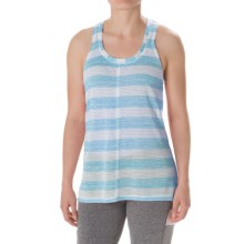 Steve Madden Cross-Back Tank Top (For Women) in Aqua - Closeouts