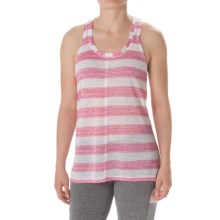 Steve Madden Cross-Back Tank Top (For Women) in Shocking Pink - Closeouts