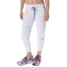 Steve Madden Cuffed Jogger Pants (For Women) in White - Closeouts