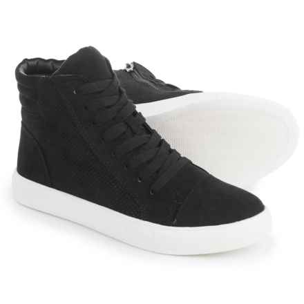 Steve Madden Demmie High-Top Sneakers (For Women) in Black - Closeouts