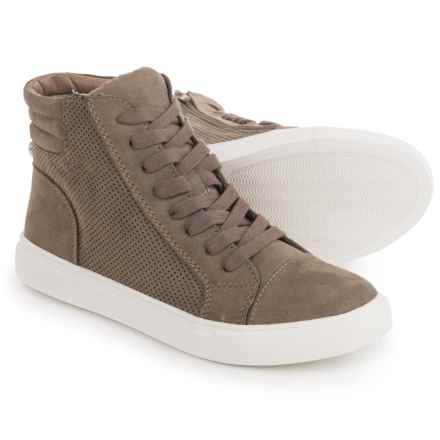 Steve Madden Demmie High-Top Sneakers (For Women) in Taupe - Closeouts