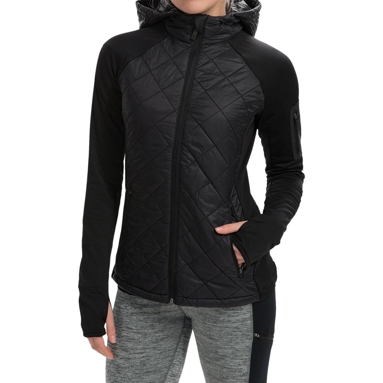 Steve Madden Diamond-Quilted Running Jacket (For Women ...