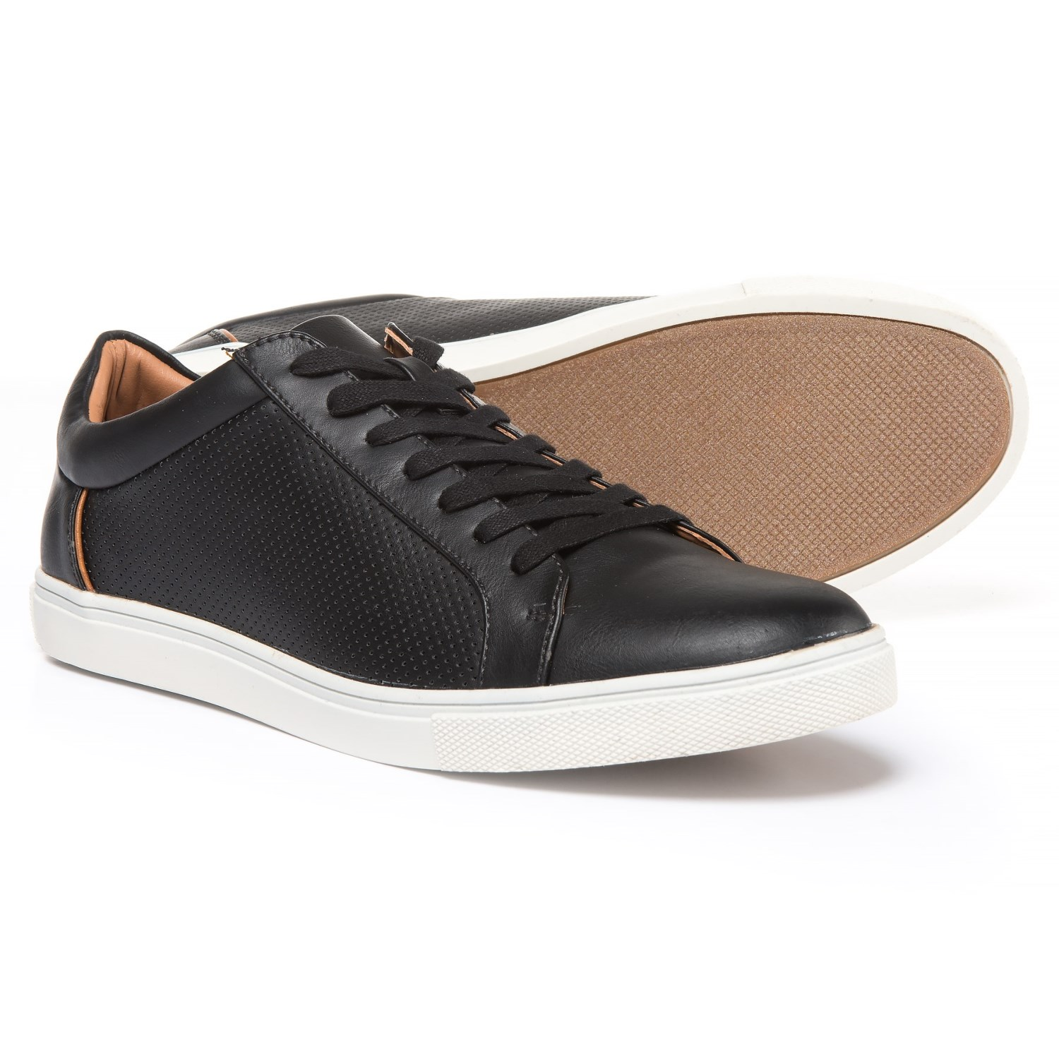 Steve Madden Early Sneakers - Vegan Leather (For Men) in Black