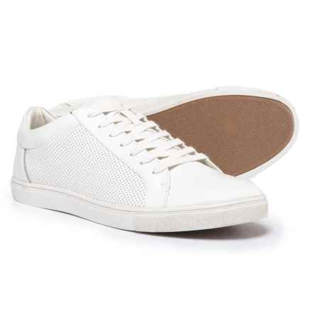 Steve Madden Early Sneakers - Vegan Leather (For Men) in White - Closeouts