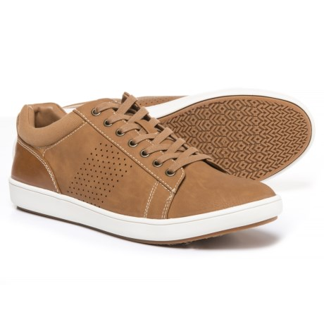 Steve Madden Fisk Sneakers - Vegan Leather (For Men) in Tan