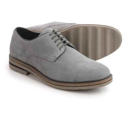 Steve Madden Horten Oxford Shoes - Suede (For Men) in Light Grey - Closeouts