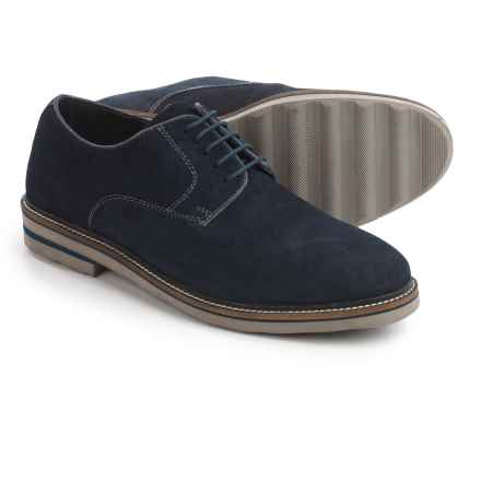 Steve Madden Horten Oxford Shoes - Suede (For Men) in Navy - Closeouts