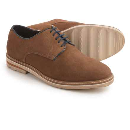 Steve Madden Horten Oxford Shoes - Suede (For Men) in Tan - Closeouts