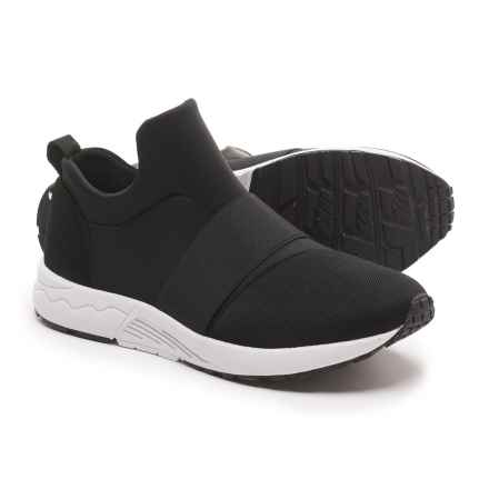 Steve Madden Hueber Sneakers (For Women) in Black - Closeouts