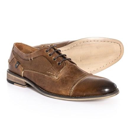 dd87b180d14 Steve Madden Jagwar Oxford Shoes - Leather (For Men) in Tan