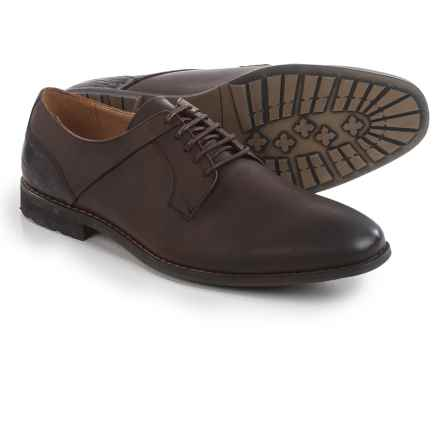Steve Madden Kojaxx Oxford Shoes - Leather (For Men) in Brown Leather - Closeouts
