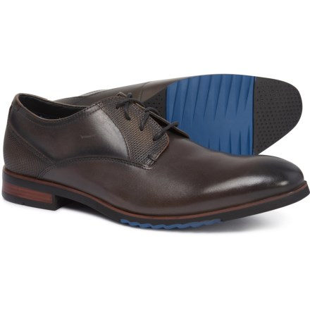 5906fa64eb1 Steve Madden Lawton Oxford Shoes - Leather (For Men) in Dark Grey
