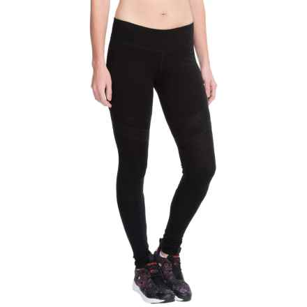 Steve Madden Leg Warmer Leggings (For Women) in Black/Black - Closeouts