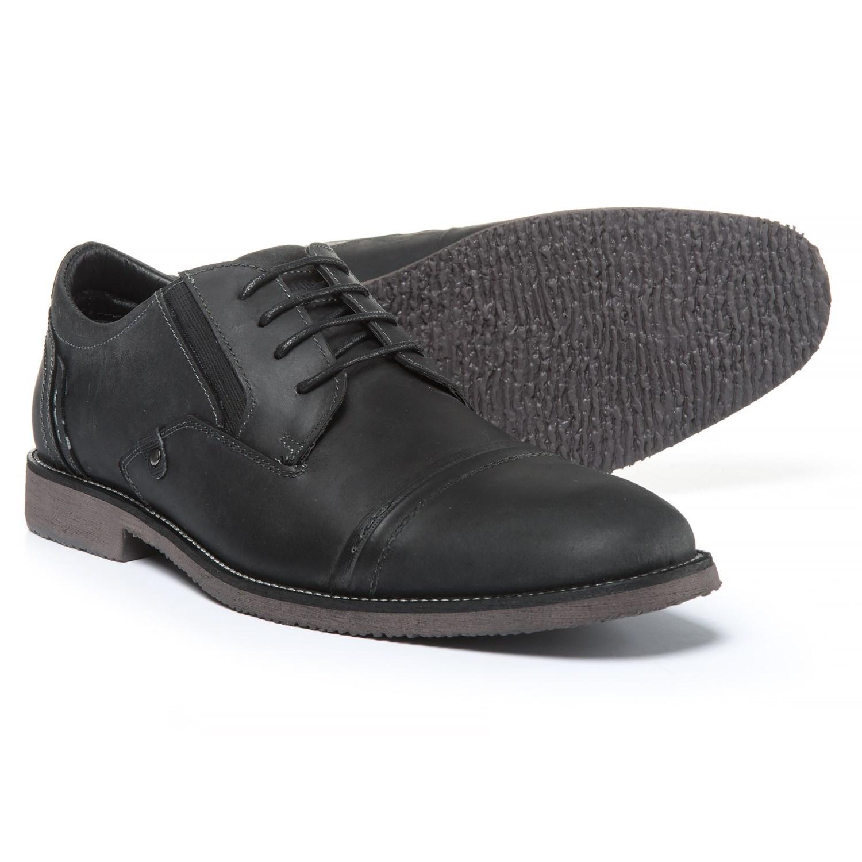 e5d30f6803b Steve Madden Lessim Cap-Toe Shoes - Leather (For Men)