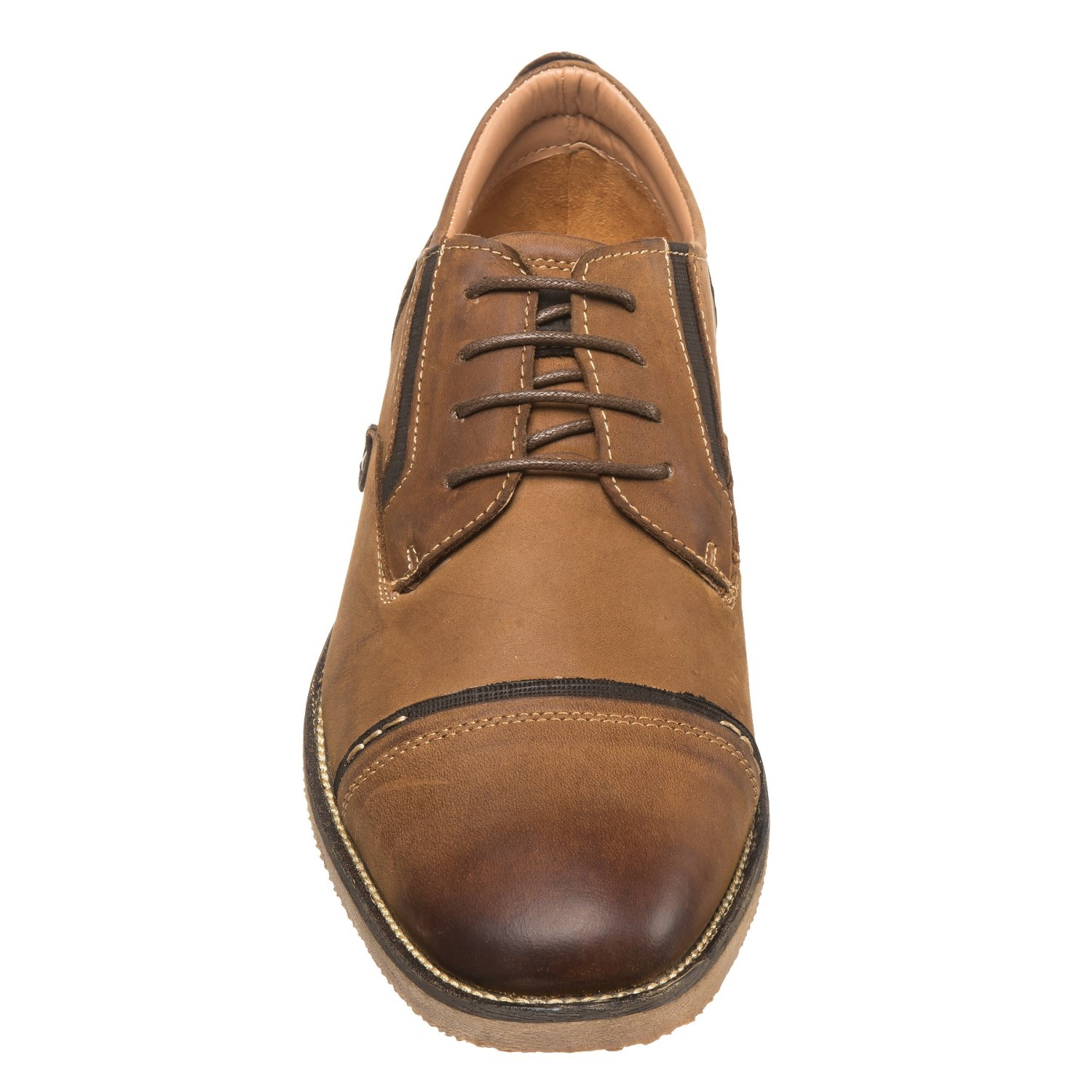 71e51964a85 Steve Madden Lessim Cap-Toe Shoes - Leather (For Men)